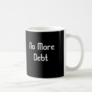 Mug Pas plus de dette