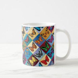 Mug Patchwork de papillon