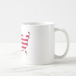 Mug Patriote sur le drapeau