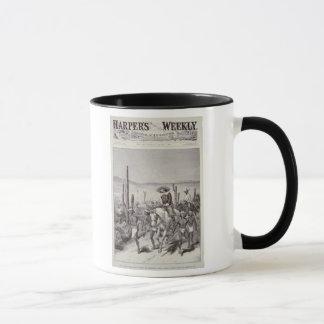 Mug Patrouille d'armée d'avance de scouts d'Apache sur