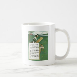 Mug Pâturage irlandais de chèvre de fille