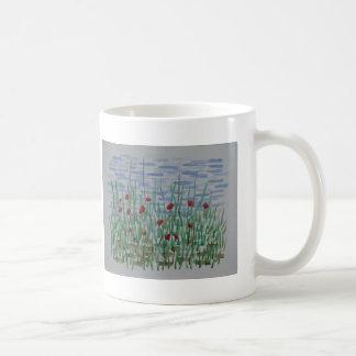 Mug Pavots et roseaux