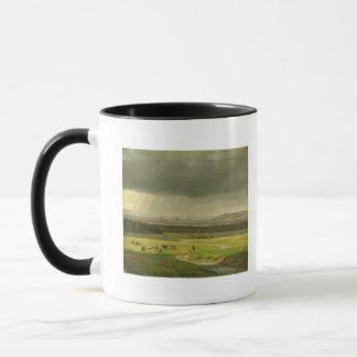 Mug Paysage avec Dresde dans la distance, 1830