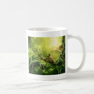 Mug Paysage de reptiles de jungle de grenouilles de
