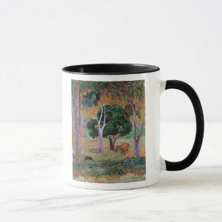 Mug Paysage dominicain ou paysage avec un porc