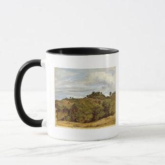 Mug Paysage près d'Olevano, 1822
