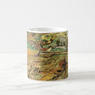 Mug Paysan inclus du champ de blé W par Vincent van
