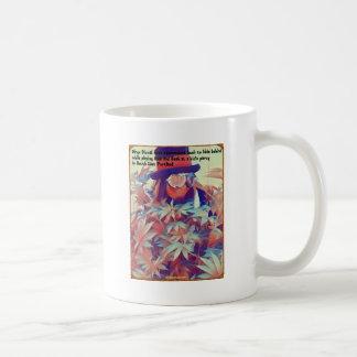 Mug Peaux de clown pendant le cache-cache.