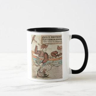 Mug Pêche de Thor pour le serpent de Midgard