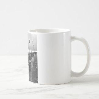 Mug Pêche outre de la photographie de pilier