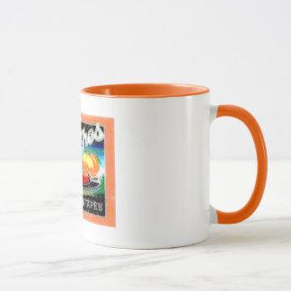 Mug Pêches abstraites