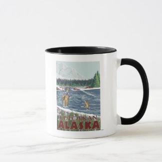 Mug Pêcheur de mouche - Ketchikan, Alaska