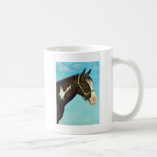 Mug Peignez le cheval