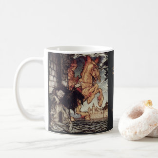 Mug Peinture d'Edgar Allan Poe Metzengerstein par