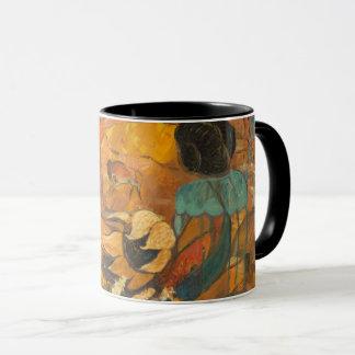 Mug Peinture d'habitants de falaise