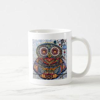 Mug Peinture graphique magique de hibou