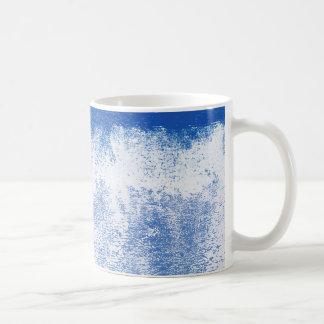 Mug Peinture roulée par bleu