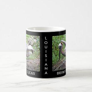 Mug Pélican de la Louisiane Brown