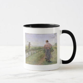 Mug Pendant le matin, 1889