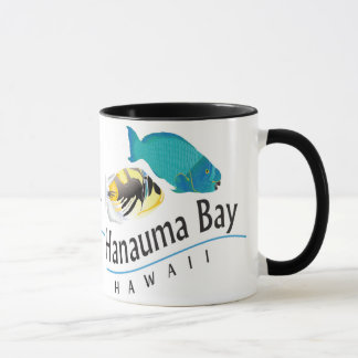Mug Perroquet de baie de Hanauma et poissons de