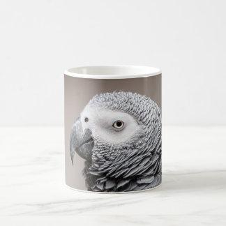 Mug Perroquet de gris de gris africain du Congo de
