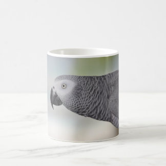 Mug Perroquet magnifique de gris africain