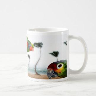 Mug Perroquets de plage