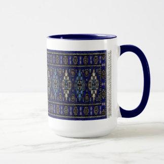 Mug Persan bleu