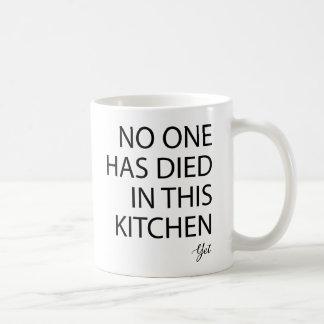 Mug Personne est mort dans cette cuisine pourtant