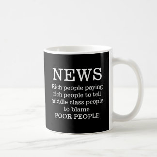 Mug Personnes riches de nouvelles payant les personnes