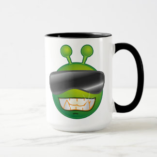 Mug Petit alien vert frais
