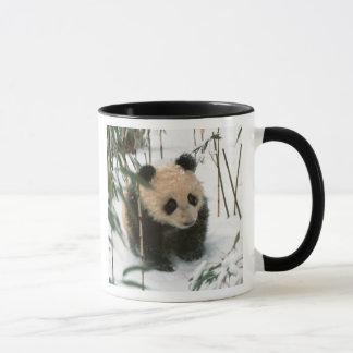 Mug Petit animal de panda sur la neige, Wolong,