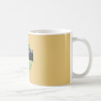 Mug Petit animal jaune d'horizon d'Atlanta