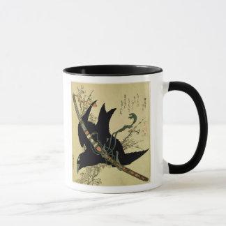 Mug Petit Raven avec l'épée de clan de Minamoto