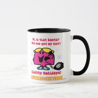 Mug Petite liste d'objectifs de Mlle Chatterbox