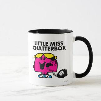 Mug Petite Mlle Chatterbox et téléphone noir