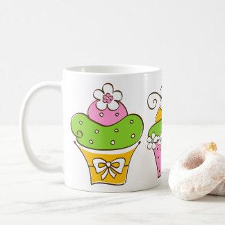 Mug Petits gâteaux tirés par la main
