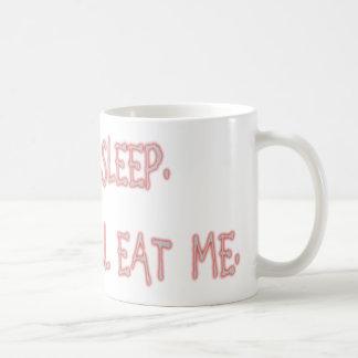 Mug Peut le sommeil du ` t, clown me mangera