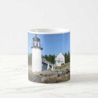 Mug phare de point de maréchal au Maine
