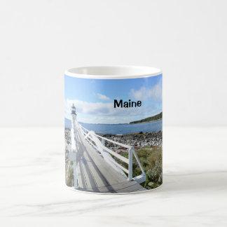 Mug Phare de point de Marshall au Maine