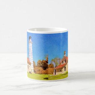 Mug Phare d'île de Cana, port le comté de Door de