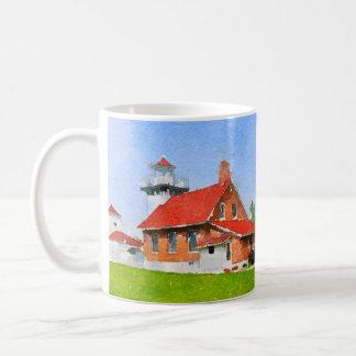 Mug Phare le comté de Door de point de Sherwood