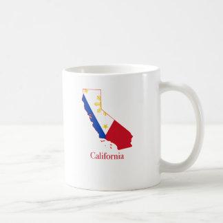 Mug Philippines diminuent au-dessus de la carte d'état