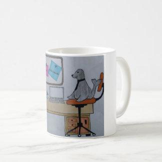 Mug Phoque dans le travail