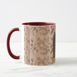 Mug Photo primitive rustique de région boisée de cinq