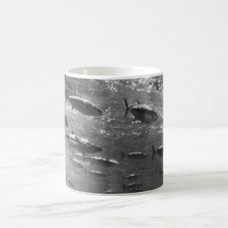 Mug Photographie sous-marine noire et blanche des