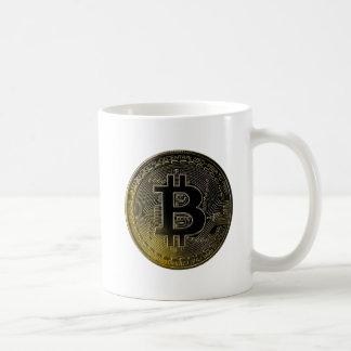 Mug Pièces de monnaie de Bitcoin