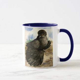 Mug Pigeon anglais de créancier de trompettiste