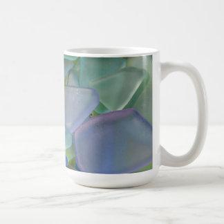 Mug Pile de verre bleu de plage, Alaska