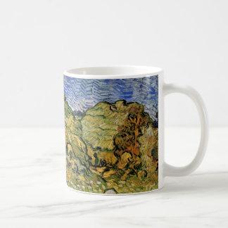 Mug Piles de blé du champ W de Van Gogh, beaux-arts